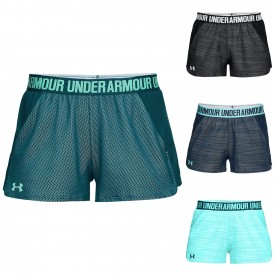 Short Play up 2.0 Novelty Femme - Under Armour 1305421