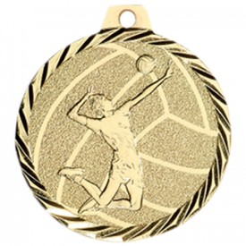 Médaille Volley-ball 50 mm Or - France Sport F_NZ24D